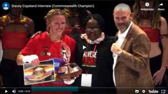 Commonwealth champion interview